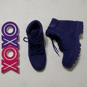 ⬇️$40 LUGZ purple hi top lace up hiking boots
